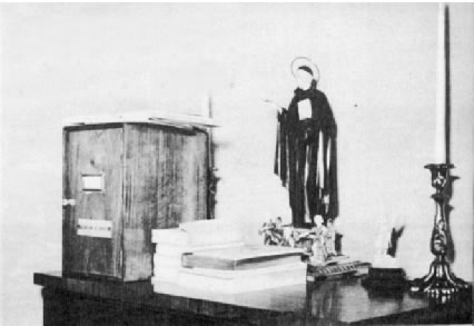 Safe in the Papal Apartment Containing the Third Secret of Fatima