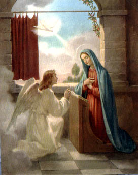 The Annunciation of the Archangel Gabriel to the Blessed Virgin Mary
