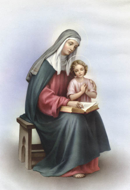 Child Jesus and Our Blessed Mother