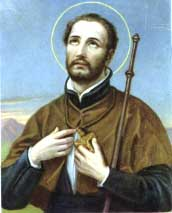 St. Francis Xavier, burning with the love of God and zeal for the salvation of souls, pray for us!