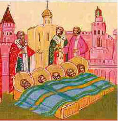 St. Eugenius buried many Christians martyred by Arian Vandals.
