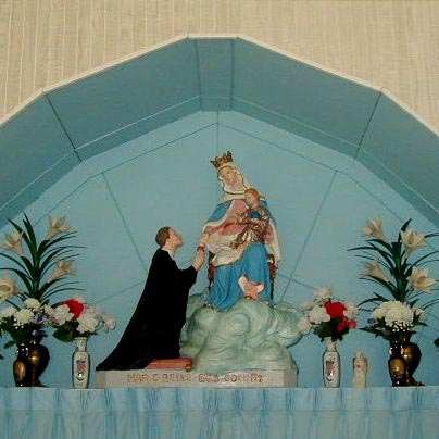 Shrine Statue of Mary, Queen of All Hearts